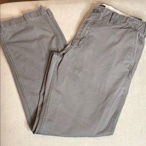 Gap vintage straight fit khakis